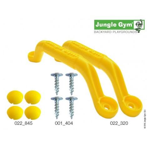 Kapaszkodó szett - Jungle Gym sárga