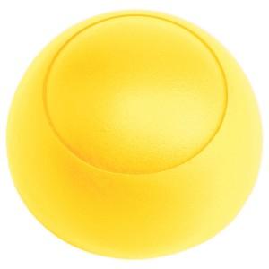 Csavartakaró gomb műa. 38x18 sárga Hapro