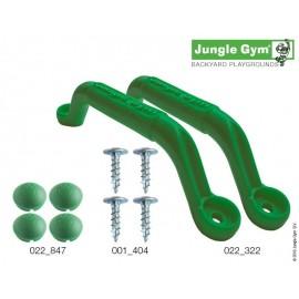 Kapaszkodó szett - Jungle Gym zöld